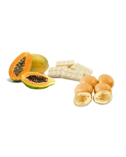 confetti Cubetto Papaya
