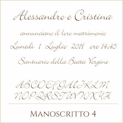 Carattere Manoscritto 4