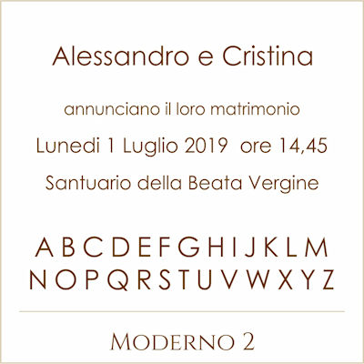 Carattere Moderno 2