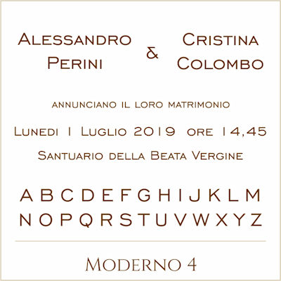Carattere Moderno 4