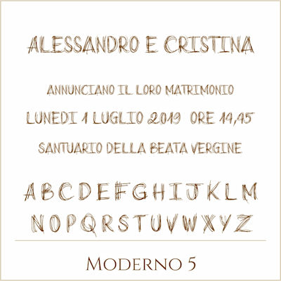 Carattere Moderno 5